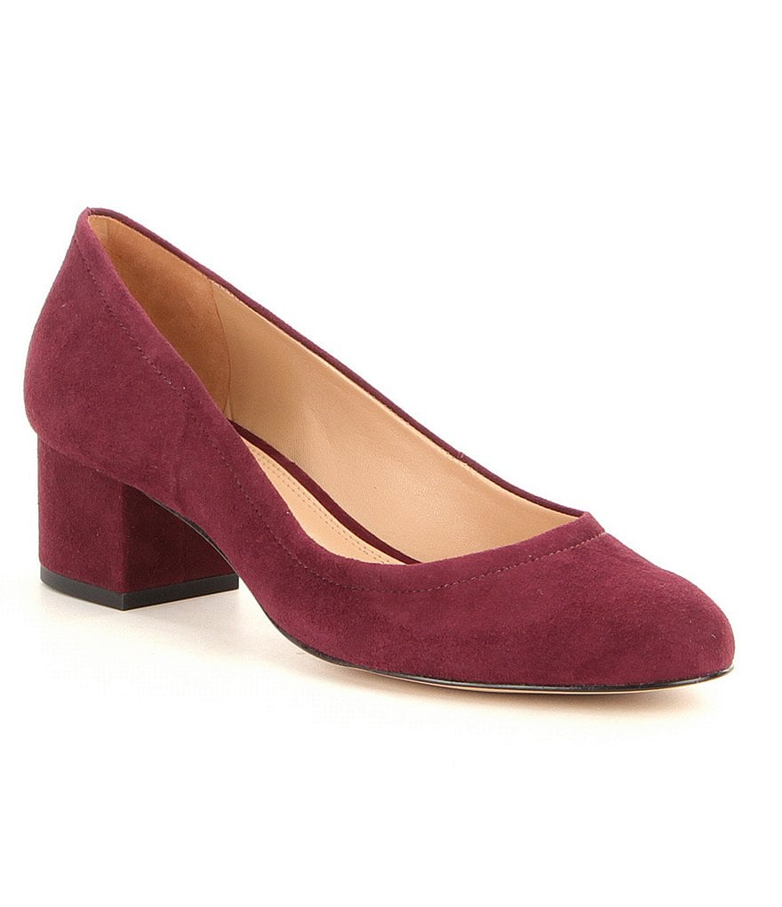 GB Walk-On Suede Pumps