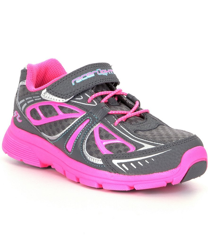 Stride Rite Girls´ Racer Lights Sneakers