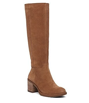 Lucky Brand Ritten Oiled Suede Tall Boots