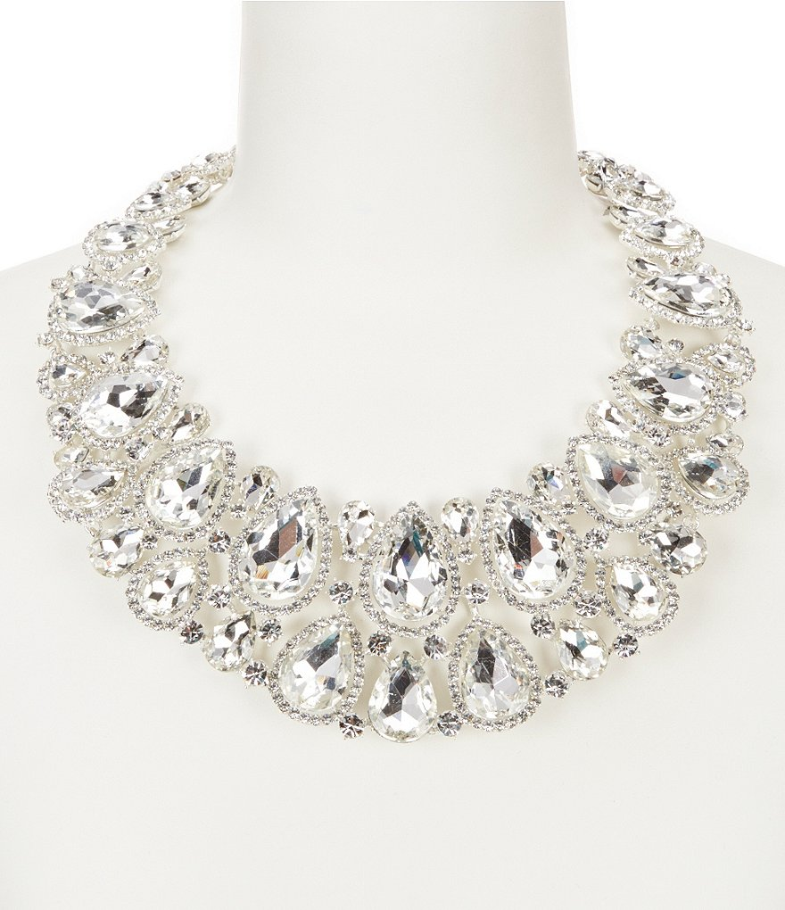 Natasha Accessories Lizzy Statement Necklace