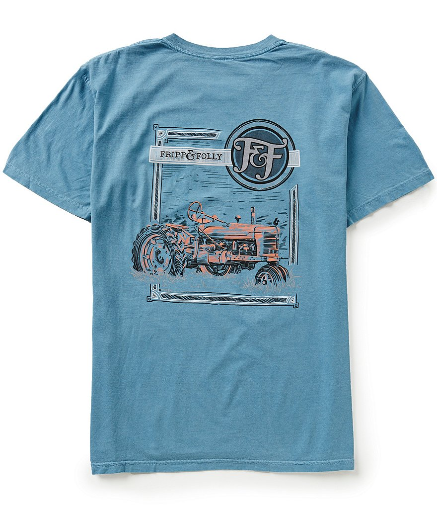 Fripp & Folly Men's Tractor Short-Sleeve Graphic Tee