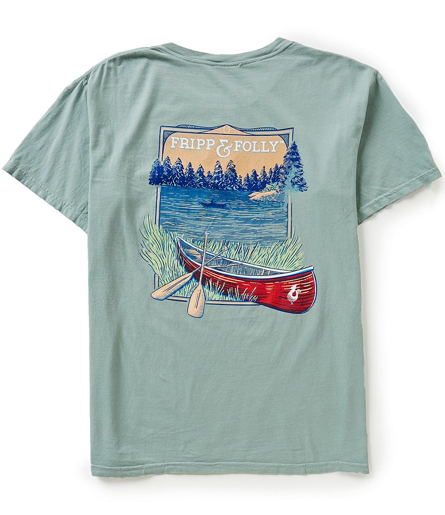 Fripp & Folly Men´s Backcountry Short-Sleeve Graphic Pocket Tee