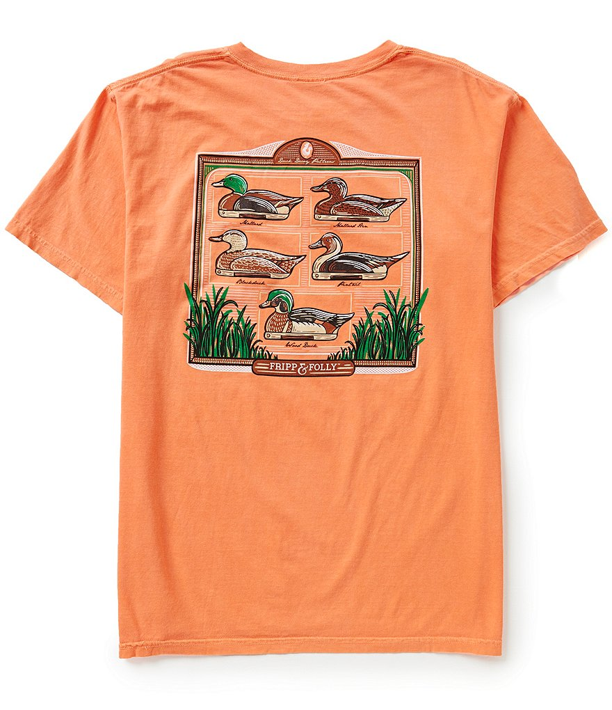 Fripp & Folly Men's Duck Decoys Short-Sleeve Graphic Tee