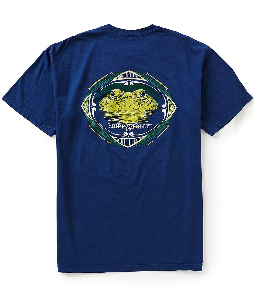 Fripp & Folly Men's Alligator Short-Sleeve Graphic Tee