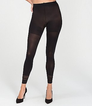 Spanx Floating Lines Footless Tights