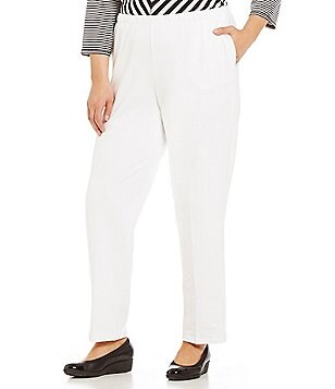 Ruby Rd. Plus Pull-On Stretch French Terry Pants