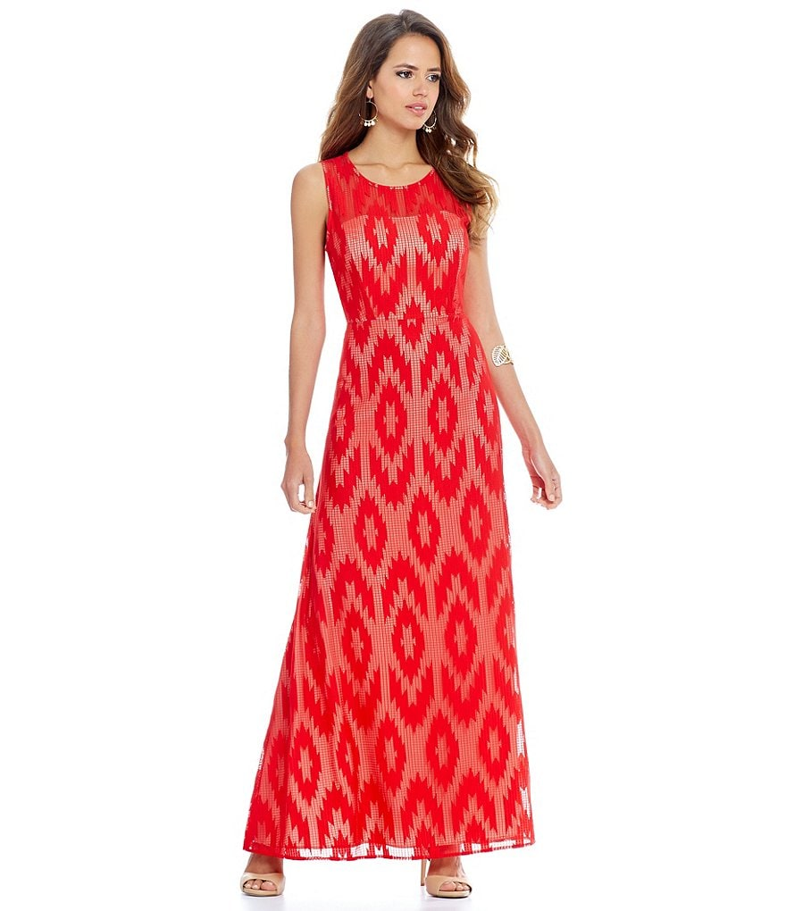 Gianni Bini Cynthia Lace Maxi Dress