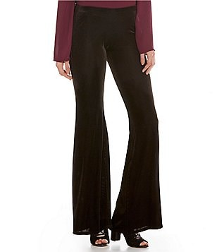 Band Of Gypsies Velvet Bell Bottom Pants