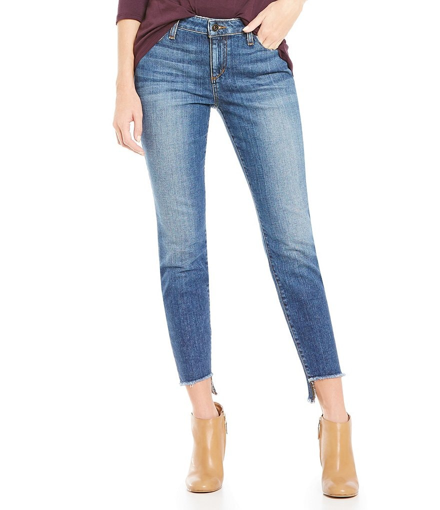 Joe´s Jeans Raw Step Up Hem Corynna Blondie Ankle Skinny Jeans