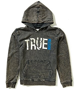 True Religion Big Boys 8-20 Pullover Shattered Hoodie