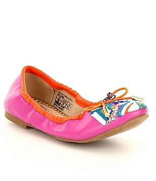 Sam Edelman Girl´s Felicia Embroidered Slip-On Ballet Flats