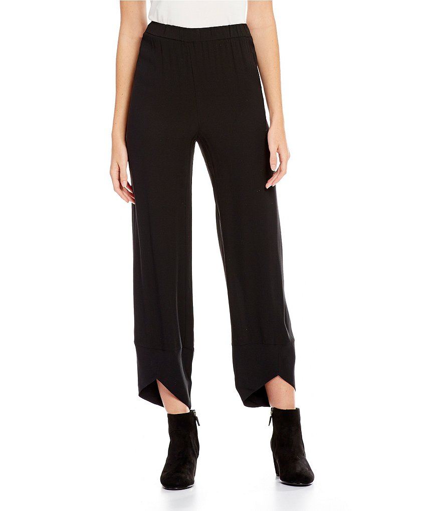 Eileen Fisher Wide Leg Lantern Ankle Pants