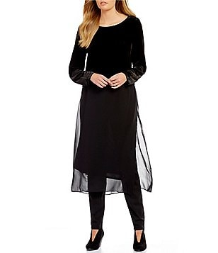 Eileen Fisher Ballet Neck Duster