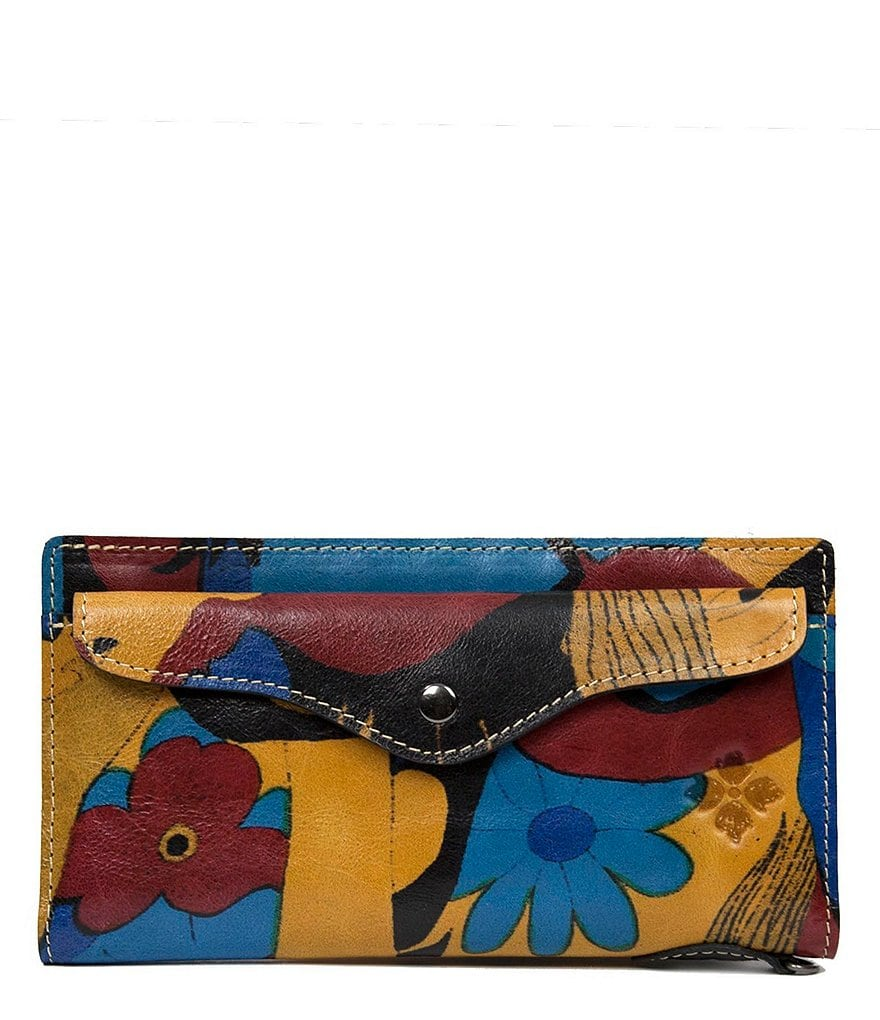 Patricia Nash Mod World Collection Valentia Snap Wristlet