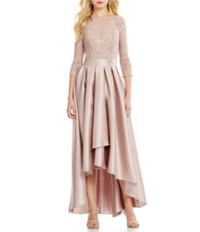 Mother Of The Bride 3 4 Sleeve Short Dresses Dillards