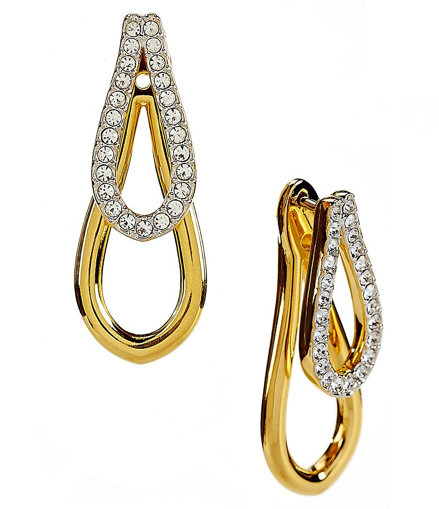 Nadri Abby Front/Back Earrings