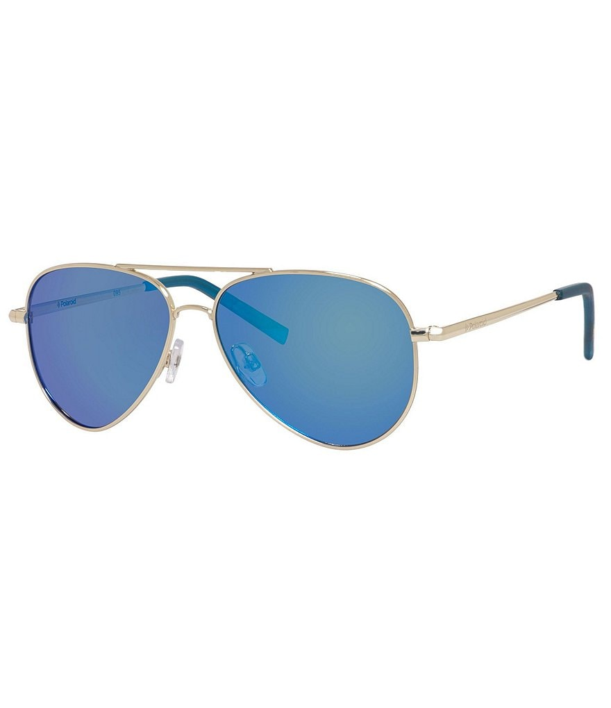 Polaroid Kids´ Metal Aviator Sunglasses
