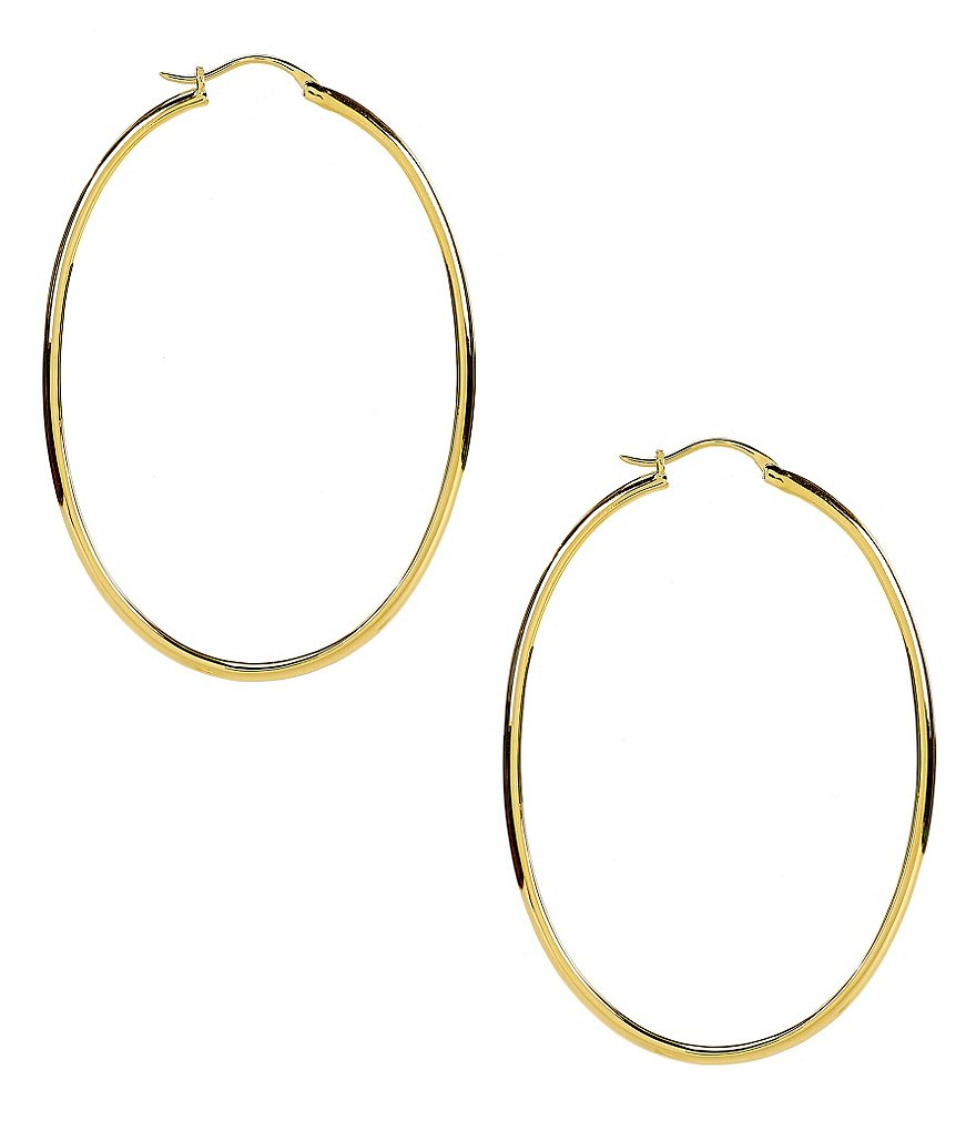 Nadri Oval Hoop Earrings