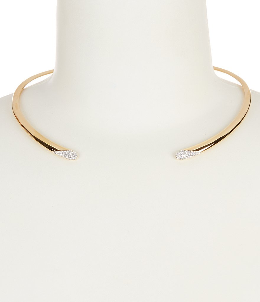 Nadri Pavé Open Collar Necklace