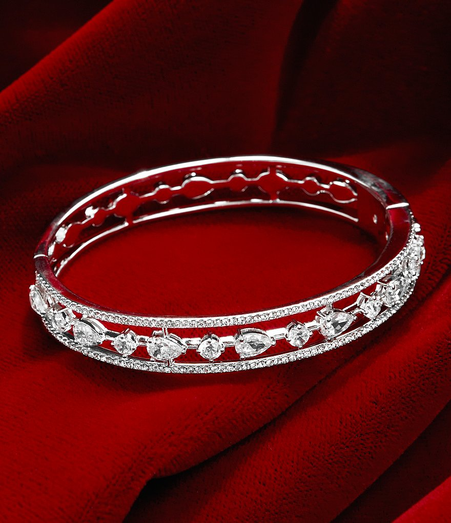 Nadri Diamond Dust Bangle Bracelet