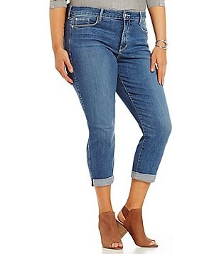 NYDJ Plus Alina Convertible Ankle Jeans