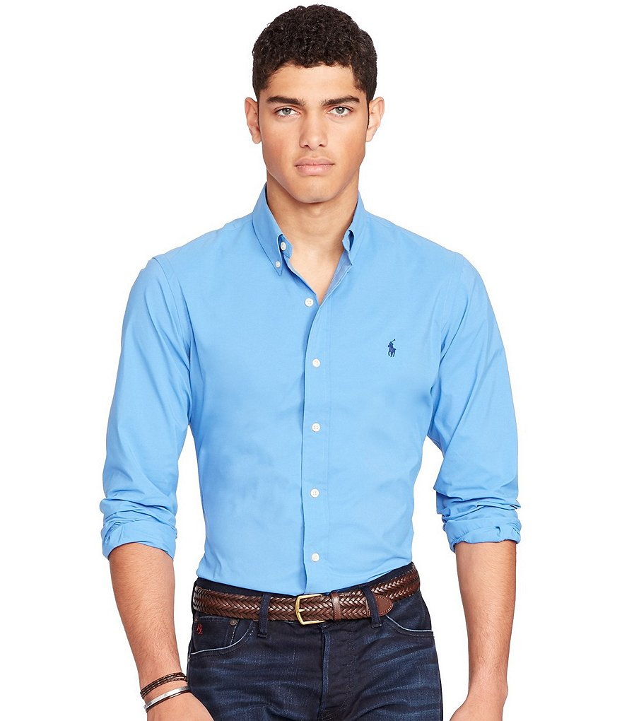 Polo Ralph Lauren Performance Solid Poplin Shirt