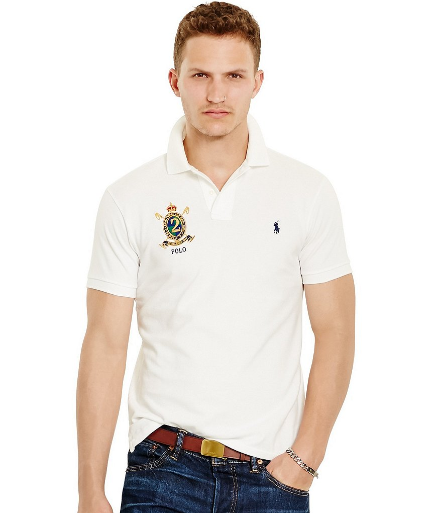 Polo Ralph Lauren Custom-Fit Featherweight Solid Polo Shirt