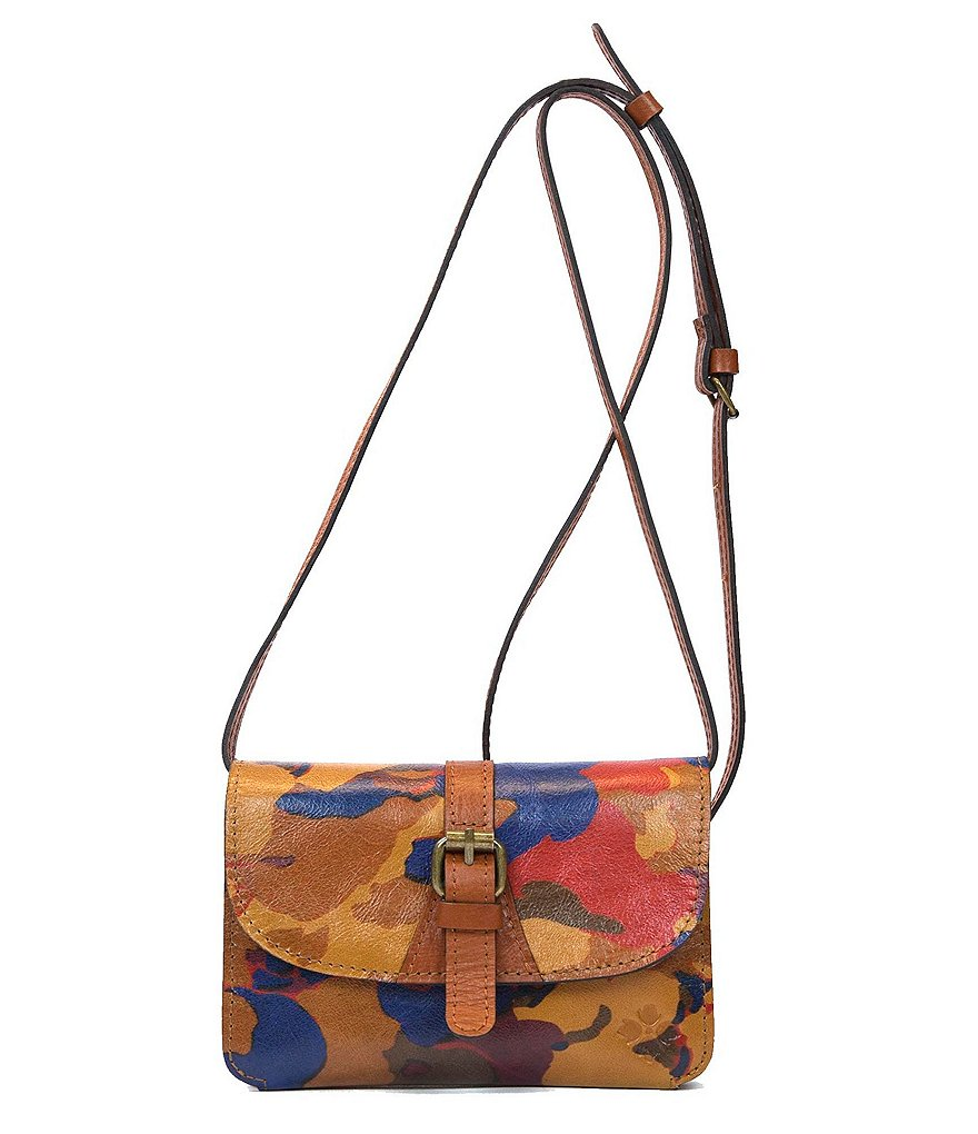 Patricia Nash Parisian Camo Collection Torri Cross-Body Bag