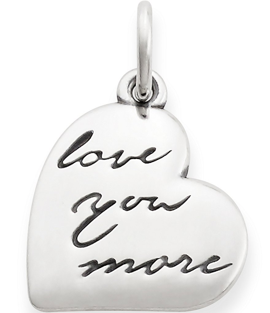 James Avery Love You More Pendant