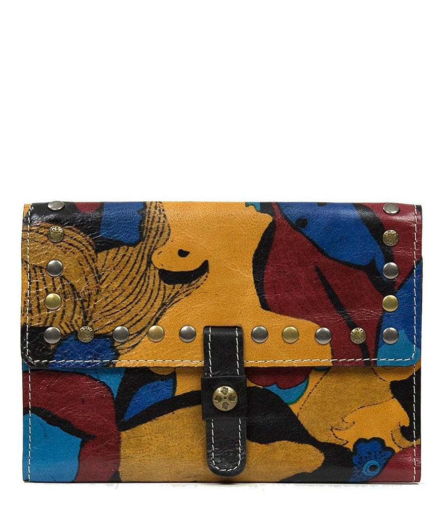 Patricia Nash Mod World Collection Colli Flap Wallet