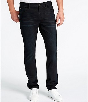 William Rast Hixson Slightly-Tailored Straight-Fit Stretch Denim Jeans