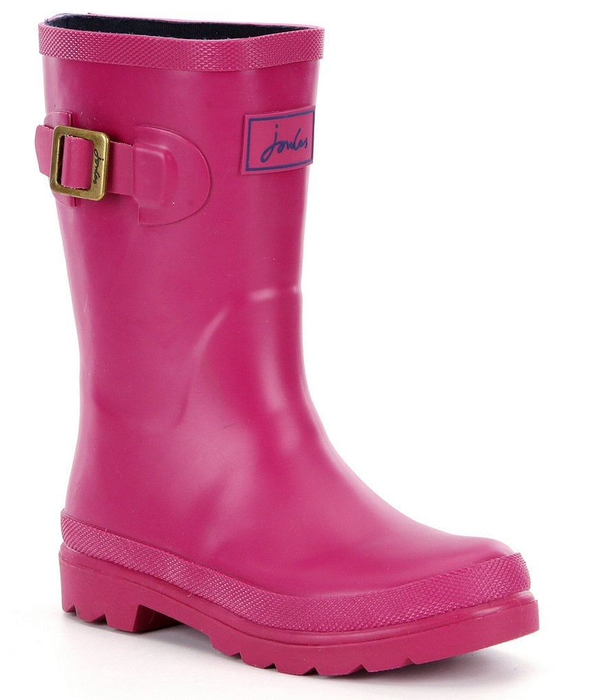 Joules Girls' Welly Waterproof Boots