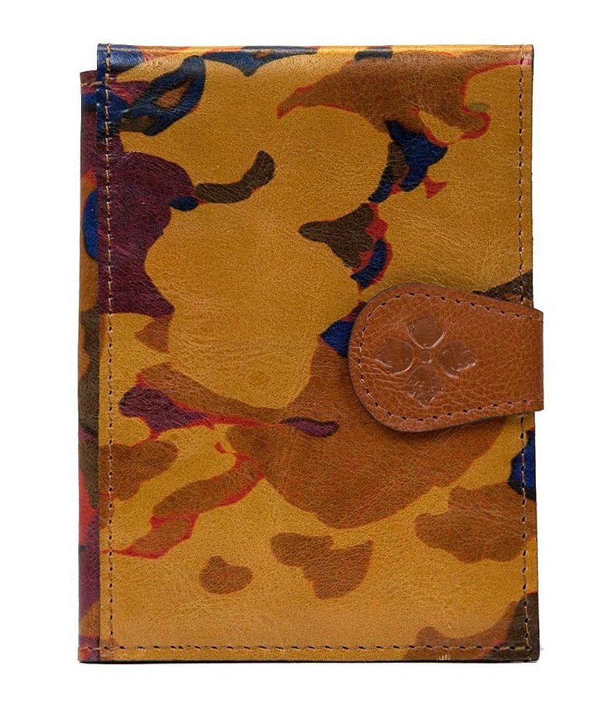 Patricia Nash Parisian Camo Collection Floral Passport Case