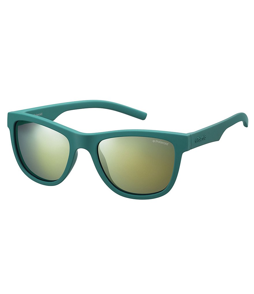 Polaroid Kids´ Twist Flexible Rubber Classic Rectangle Sunglasses