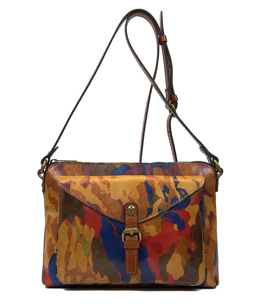 Patricia Nash Parisian Camo Collection Avellino Cross-Body Bag