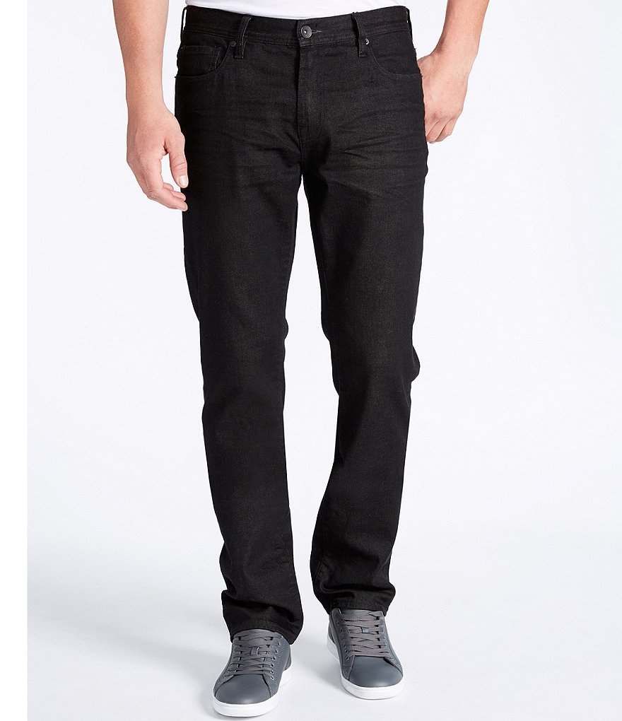 William Rast Slim-Fit Straight-Leg Stretch Twill Pants
