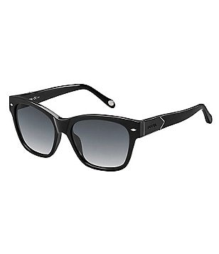 Fossil Classic Retro Rectangle Sunglasses