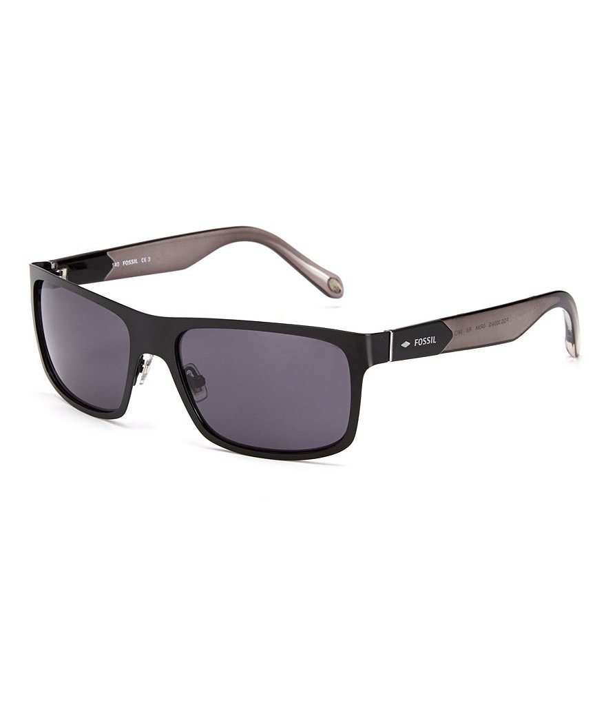 Fossil Stainless Steel Navigator Sunglasses