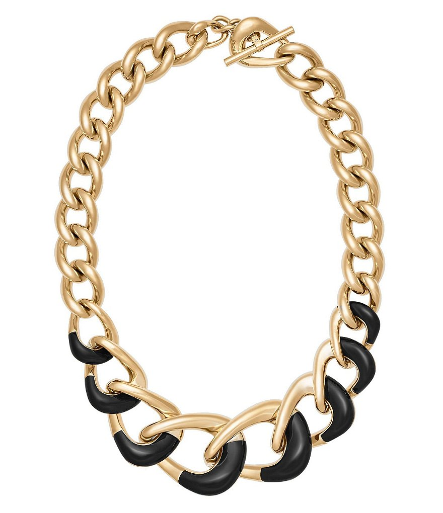 Michael Kors Curb Chain Link Necklace