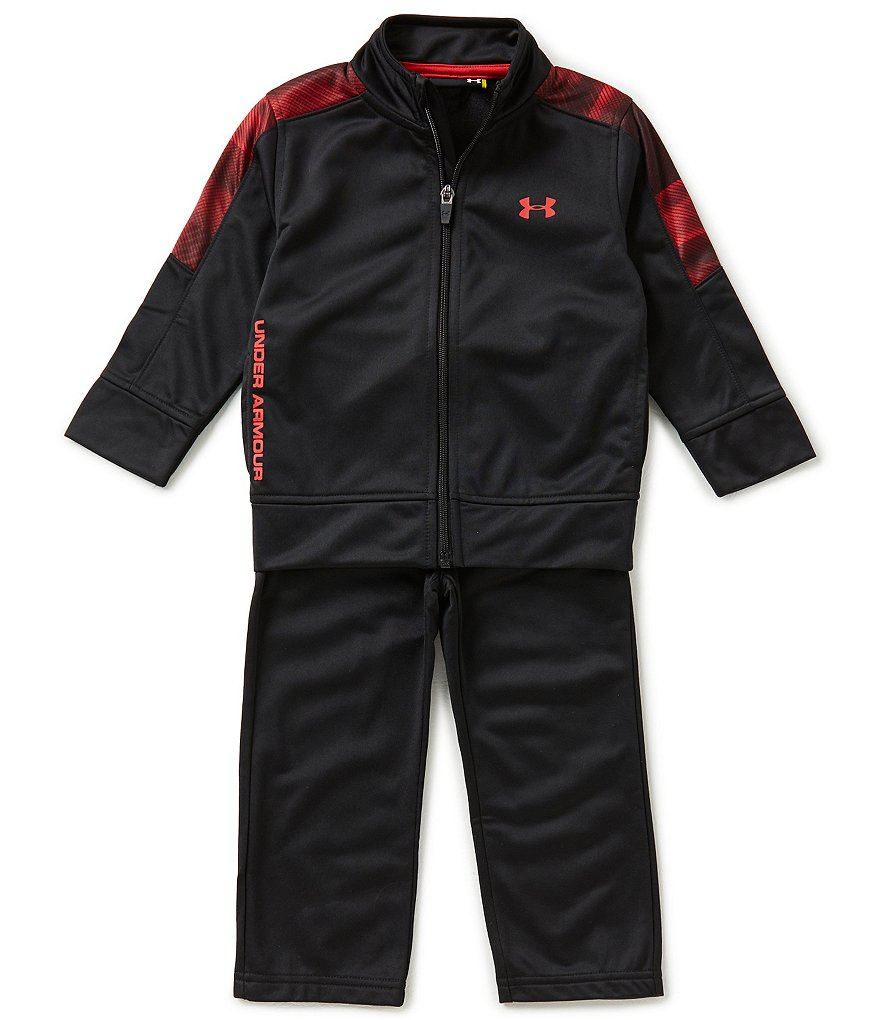 Under Armour Little Boys 2T-4T Blast Tricot Track Jacket and Pants Set