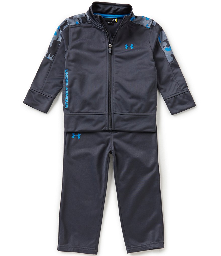 Under Armour Little Boys 2T-4T Atlas Tricot Track Jacket and Pants Set