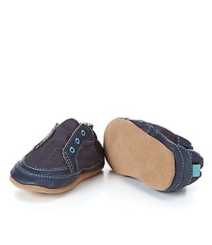 Robeez Baby Boys Stylish Steve Soft Sole Crib Shoes