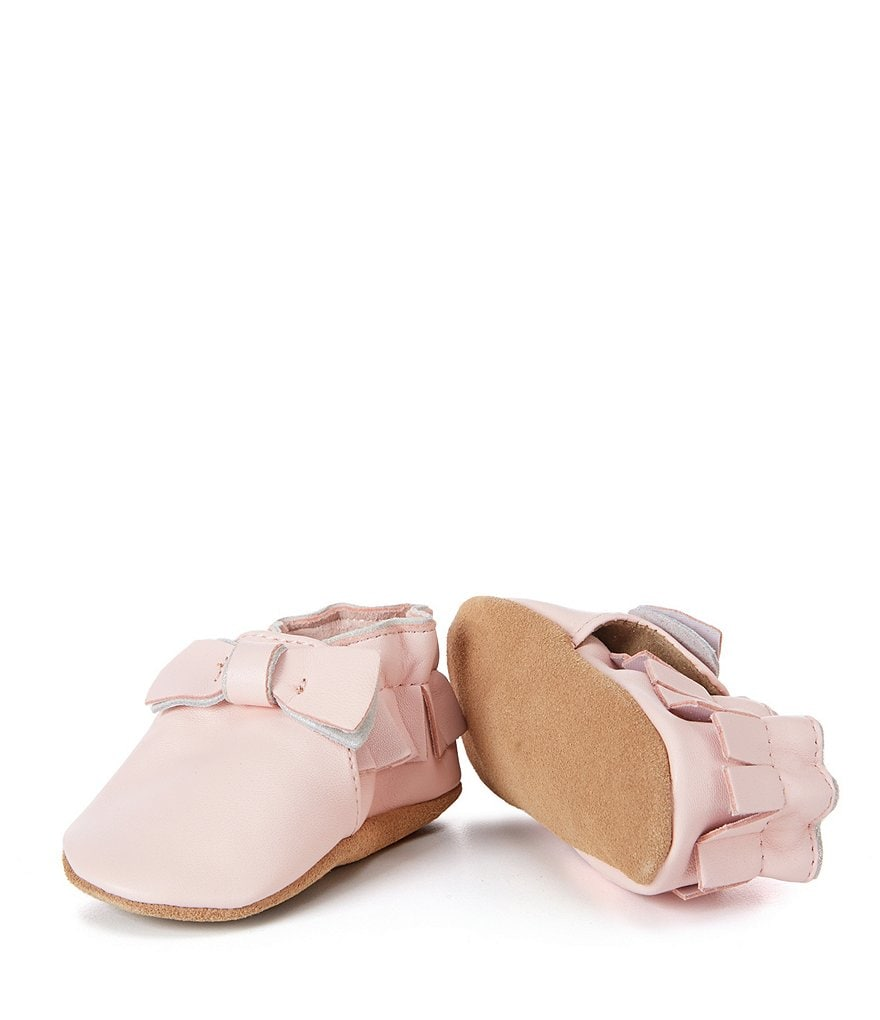 Robeez Baby Girls Maggie Moccasin Soft Sole Crib Shoes