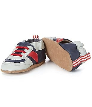 Robeez Baby Boys Super Sporty Soft Sole Crib Shoes