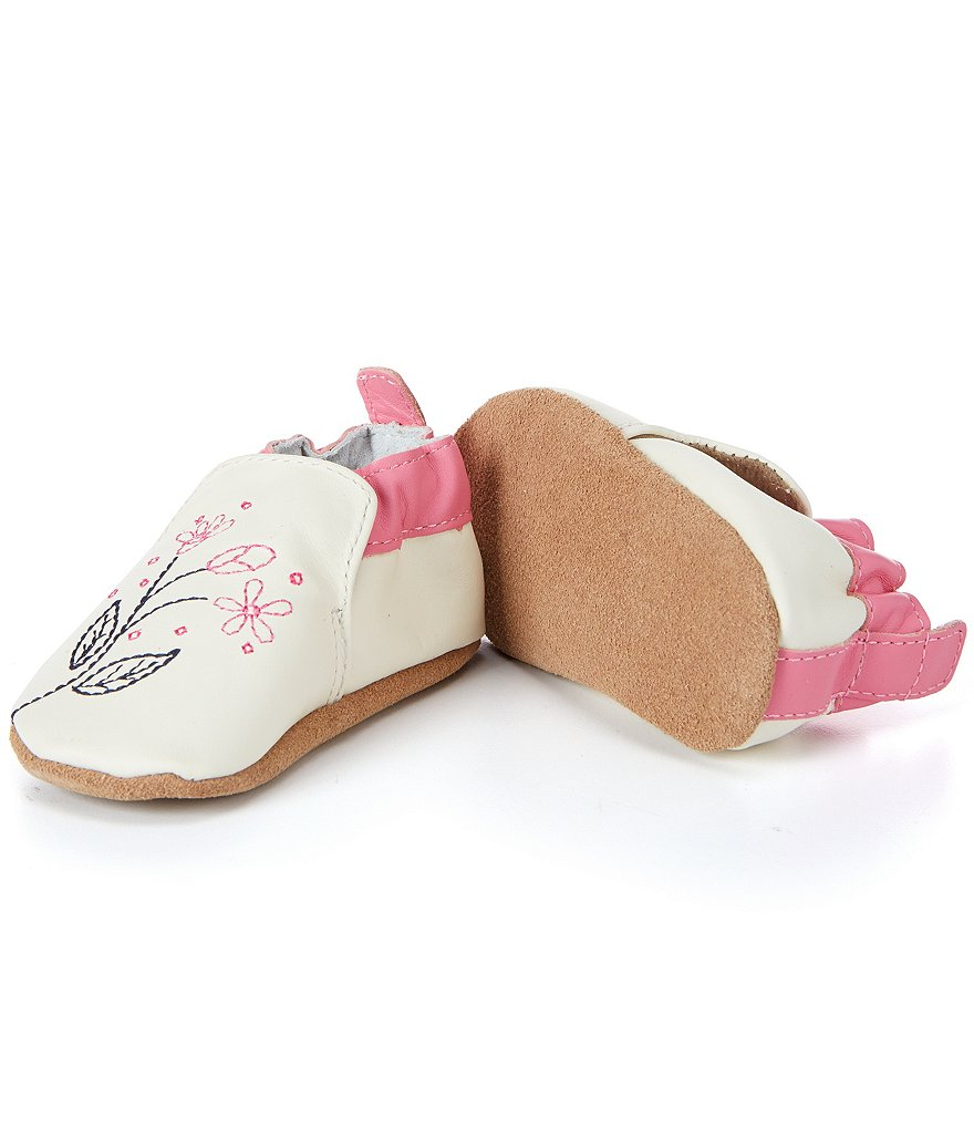 Robeez Baby Girls Sugar Soft Sole Crib Shoes
