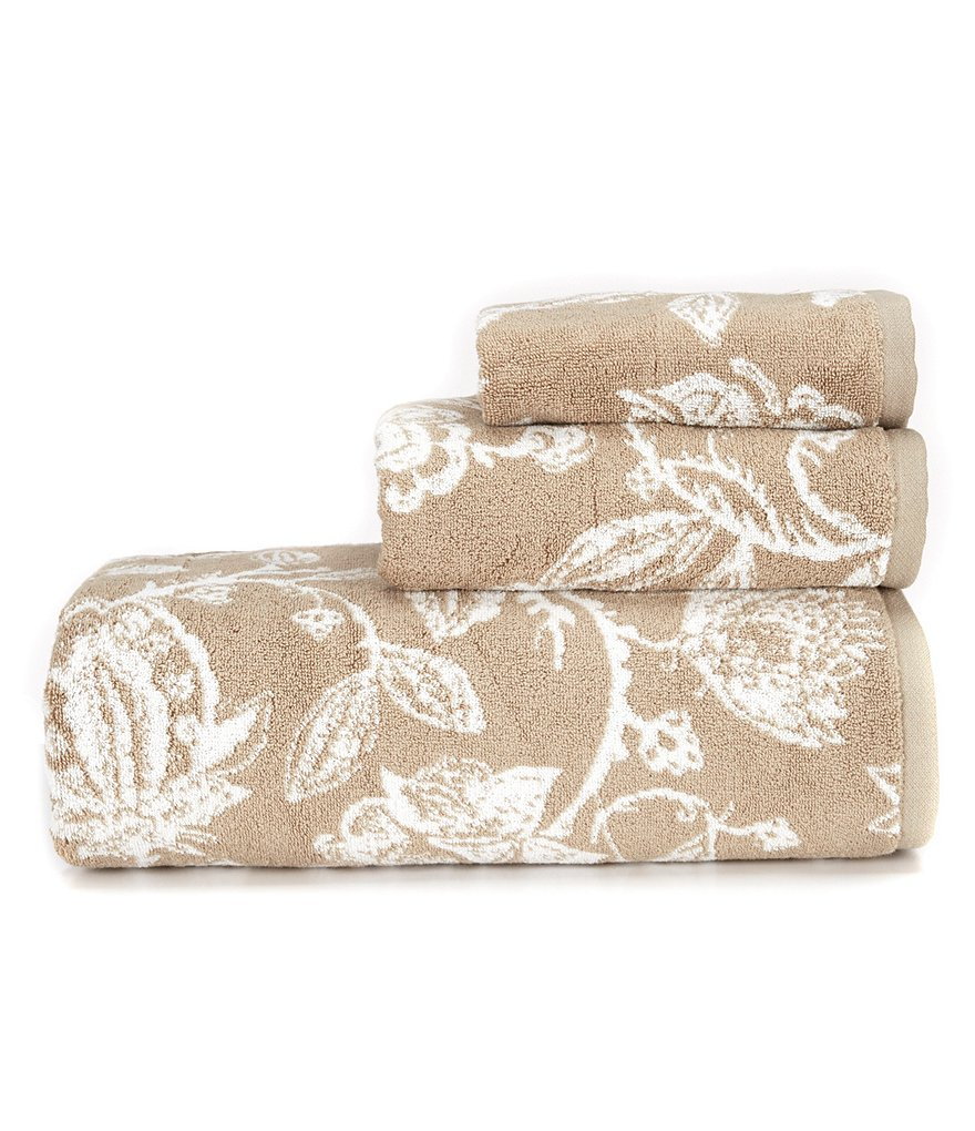 Noble Excellence Chatham Botanical Cotton Jacquard Towels