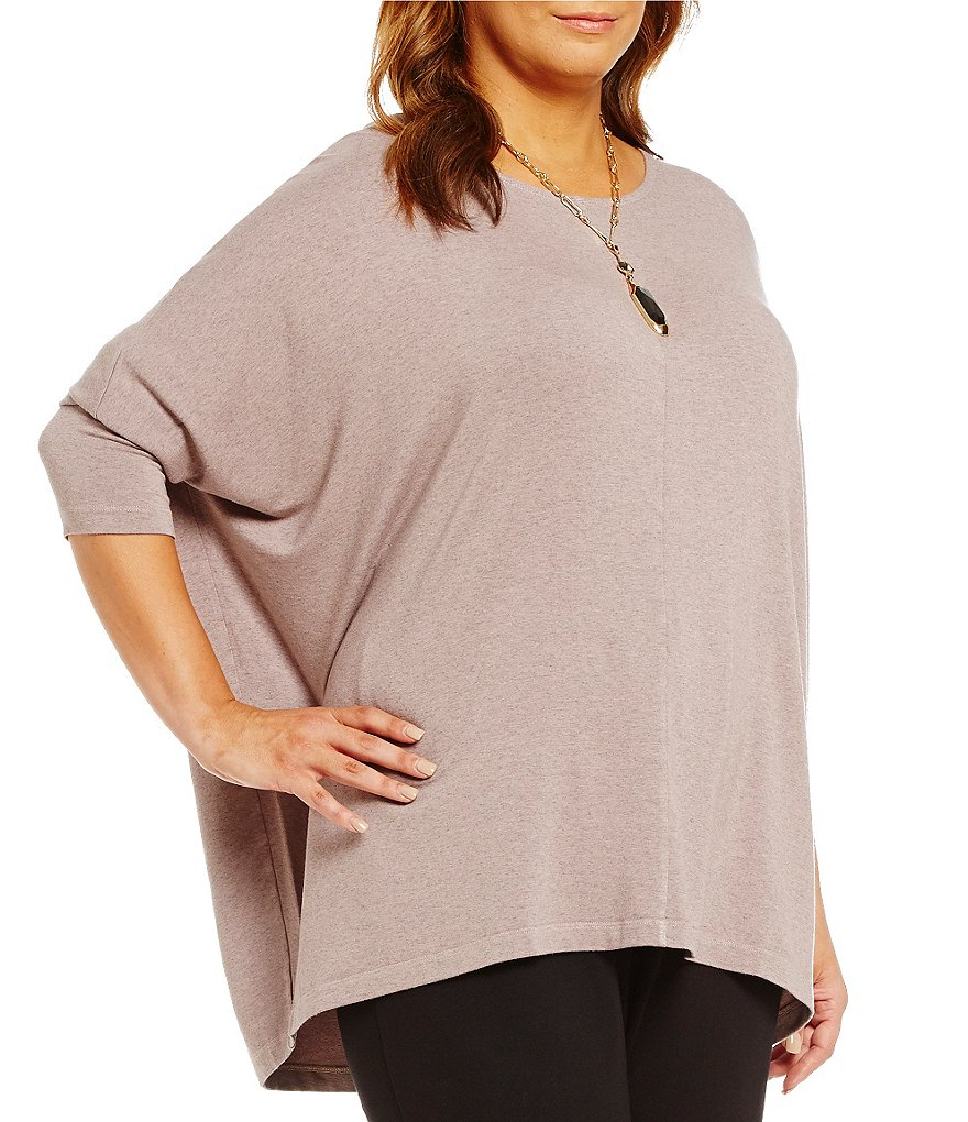 Bryn Walker Plus Alan 3/4 Sleeve Tunic