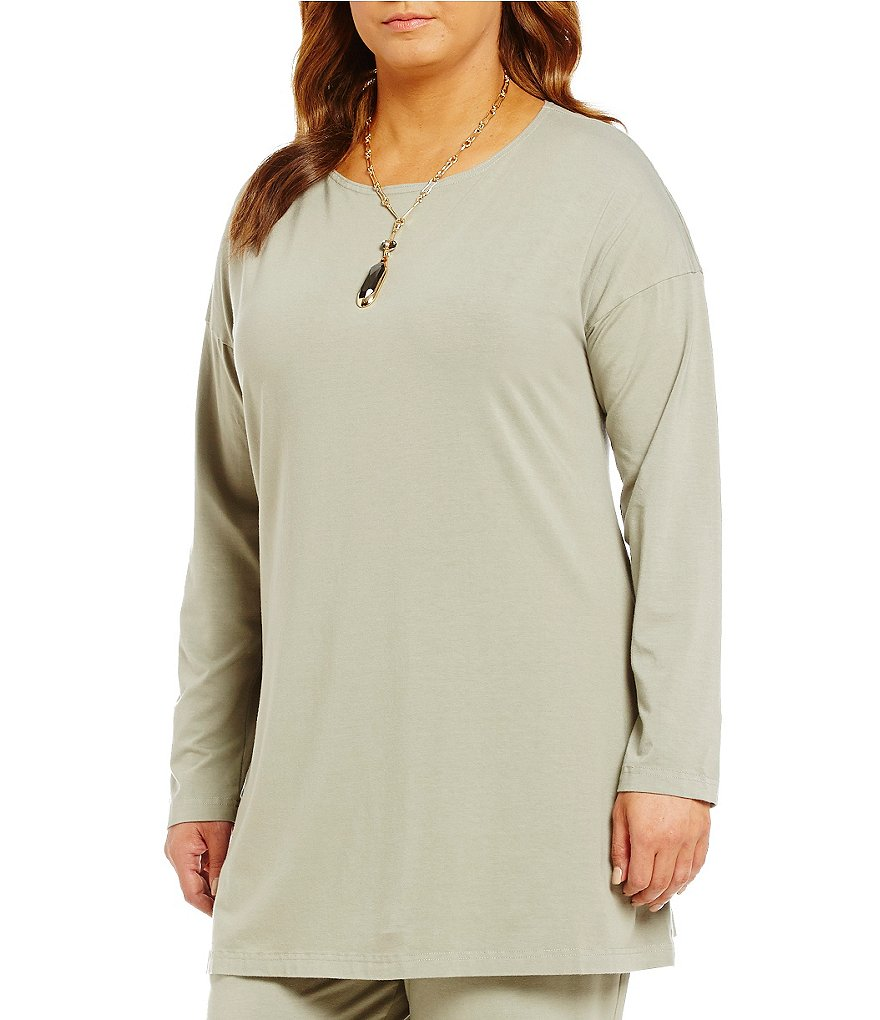 Bryn Walker Plus Daisy Long Sleeve Tunic