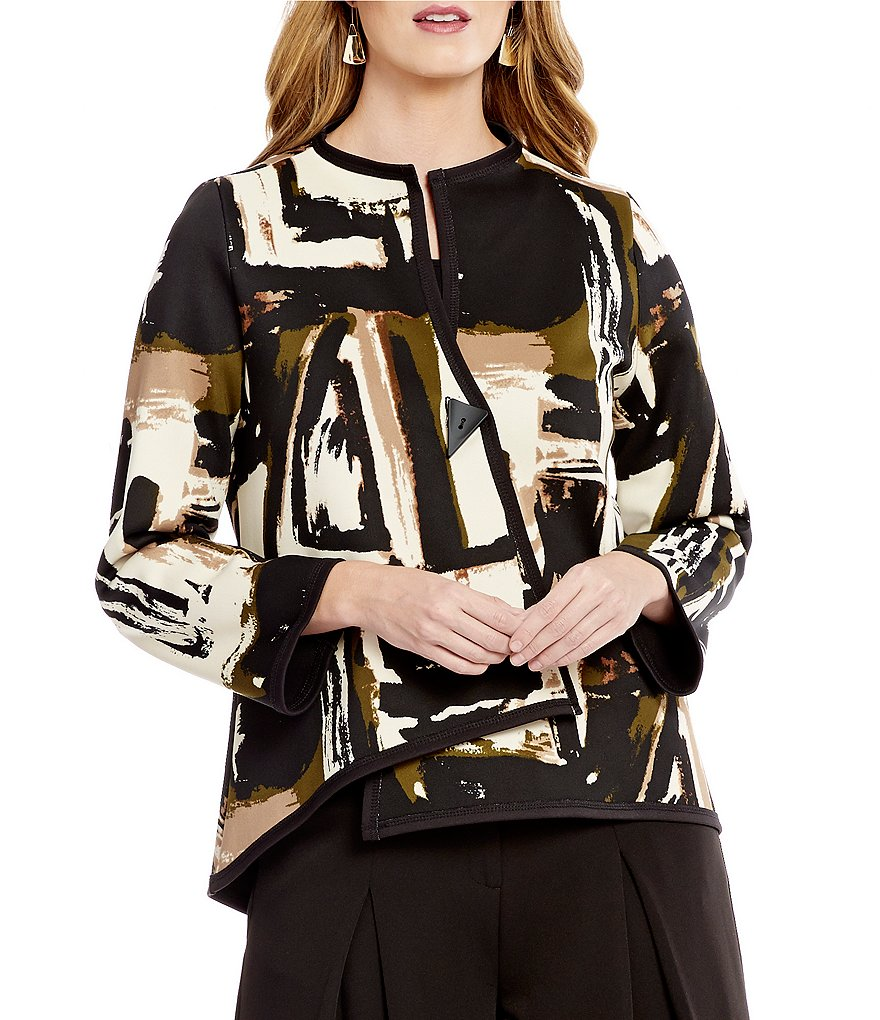 IC Collection Reversible Print Asymmetrical Jacket