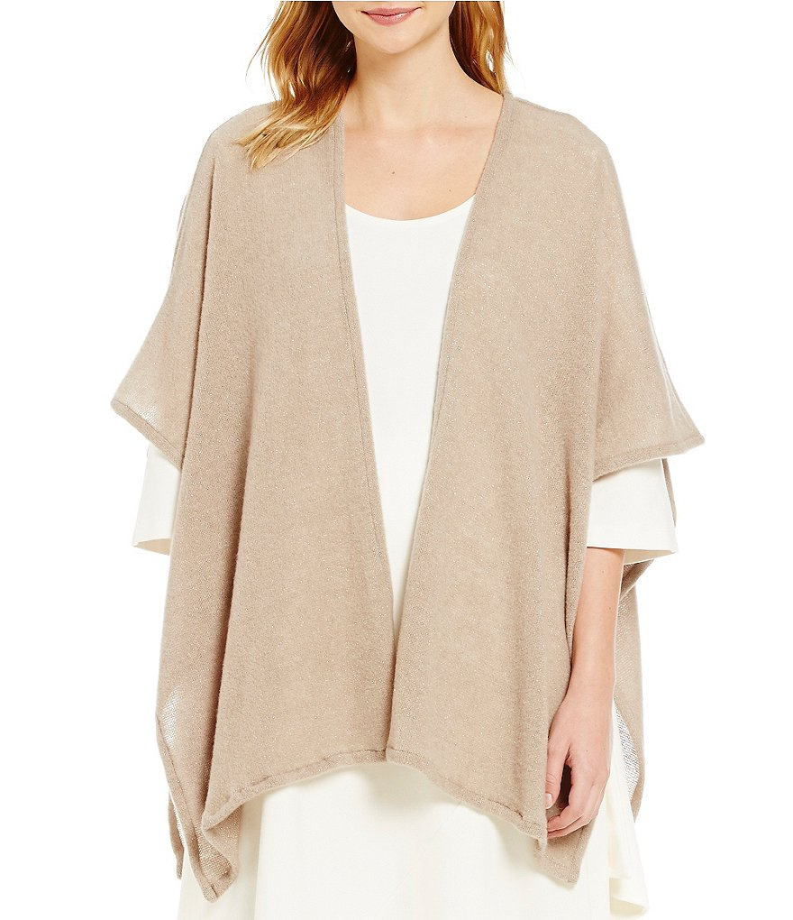 Bryn Walker 3/4 Sleeve Wrap Poncho